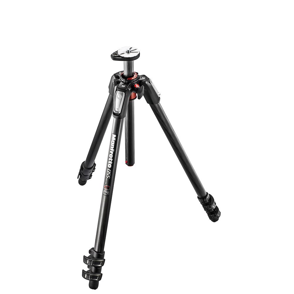 Manfrotto 055 carbon fibre 3-section photo tripod